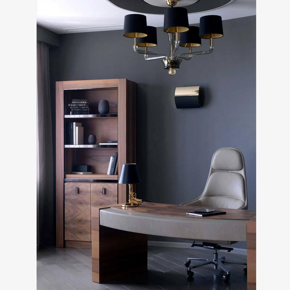 Интерьер рабочего кабинета от известного дизайнера - Ekaterina Elizarova
