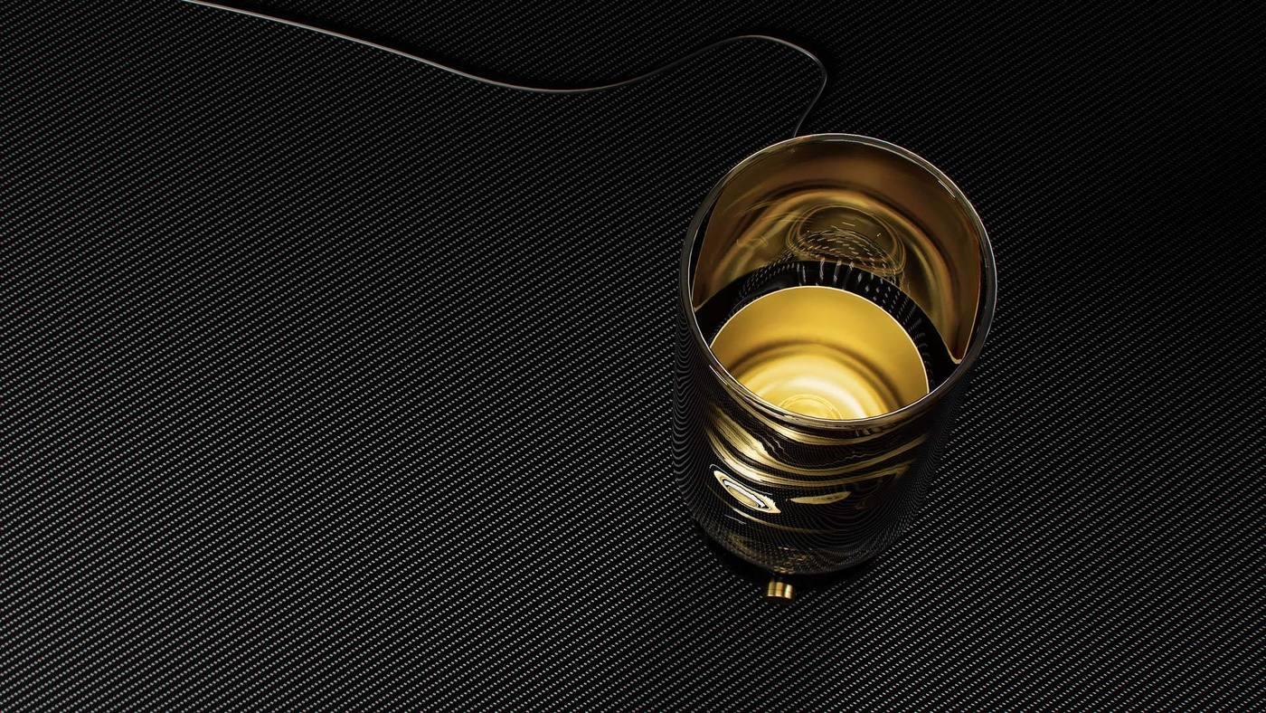 Акцентный светильник для прикроватного столика - Andromeda Flute от Екатерины Елизаровой