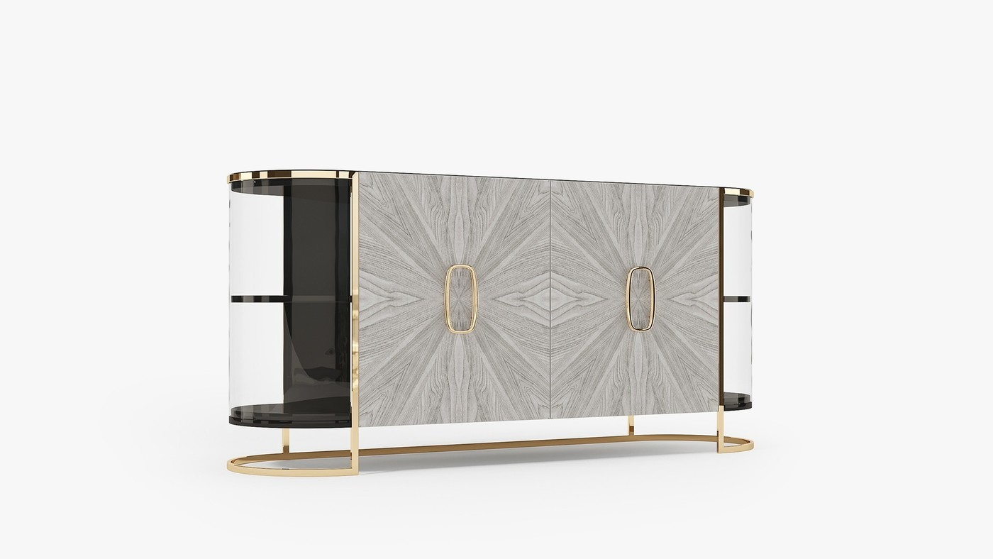 AURA - modern console table for living room