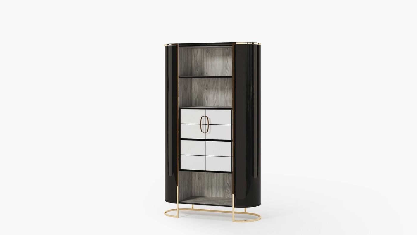 AURA - современный дизайнерский шкаф