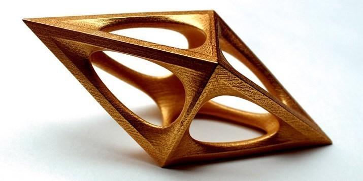 The A'Design Awards trophy presented to Ekaterina Elizarova