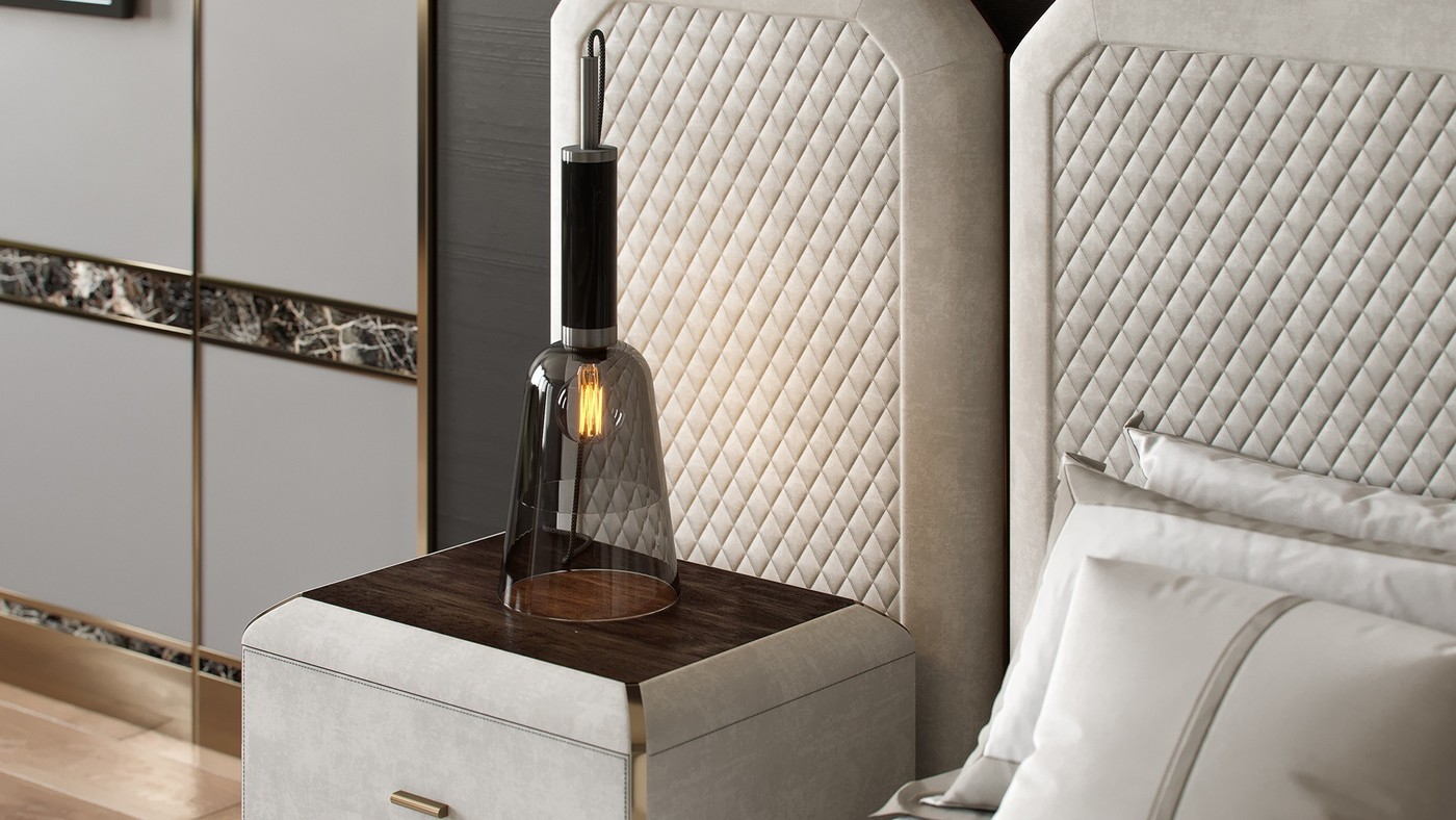 Belvedere hanging table designer lamp
