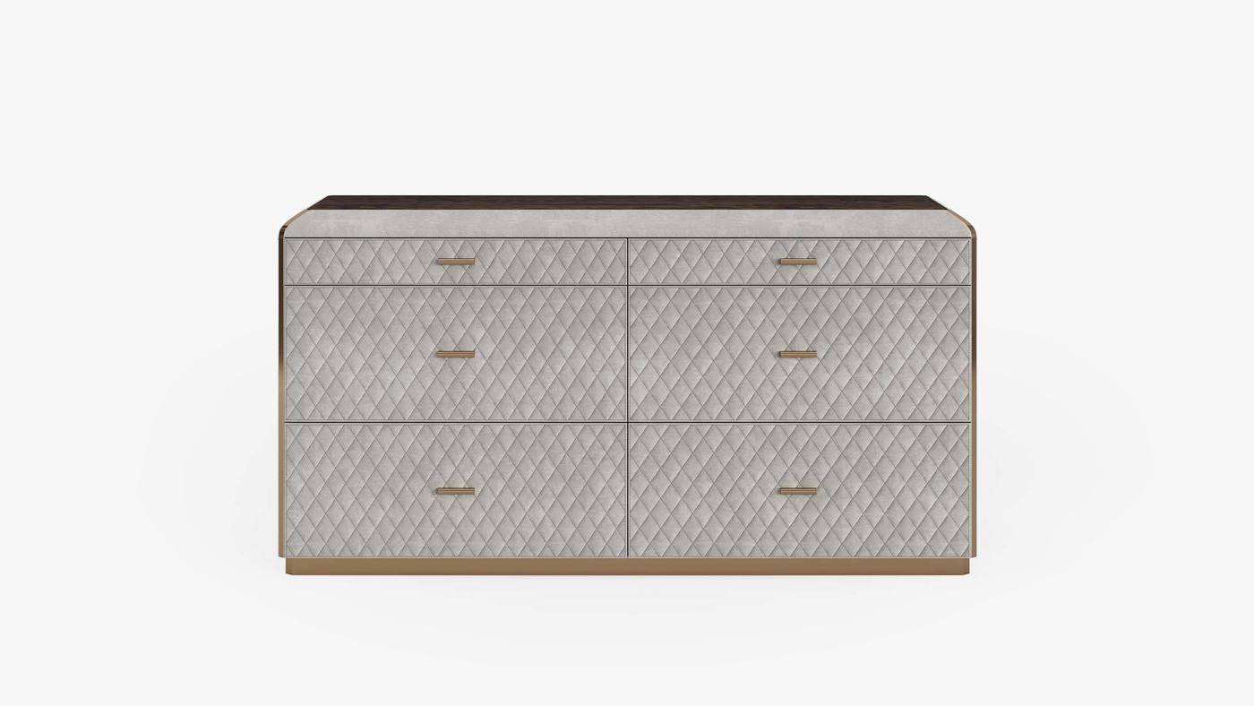 Modern Italian Dresser - Orion Chest of Drawers by Ekaterina Elizarova and Capital Collection