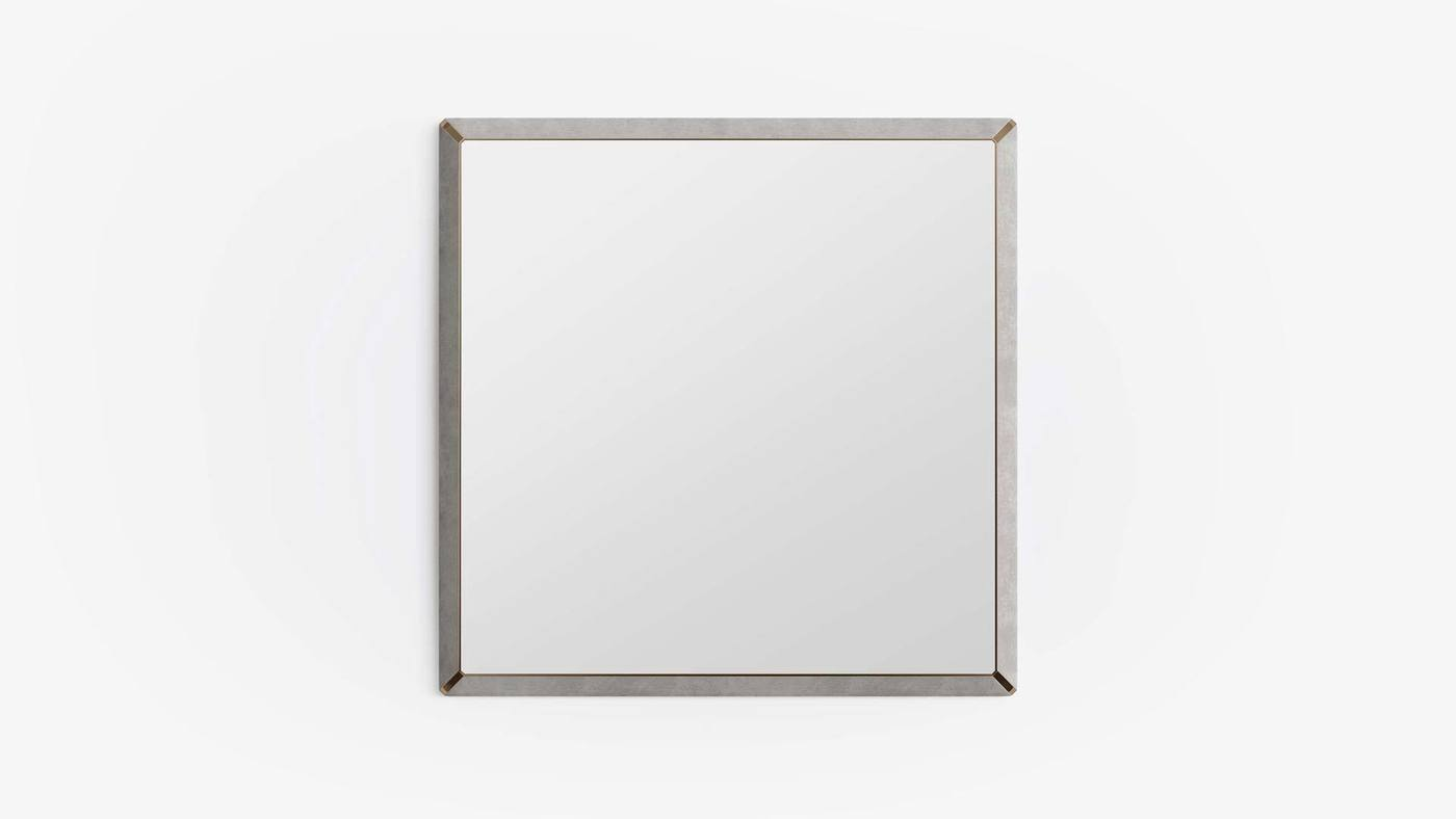 Rectangular Wall Mirror for Bedroom - Orion Mirror by Ekaterina Elizarova and Capital Collection