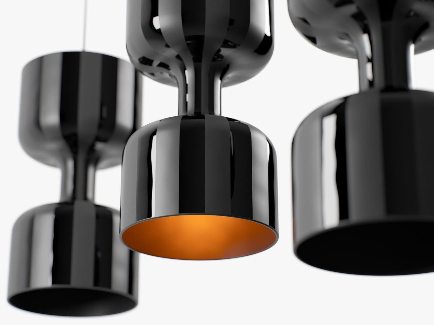 Modern Pendant Lamps Made in Italy - Chapiteau Porsche by Ekaterina Elizarova