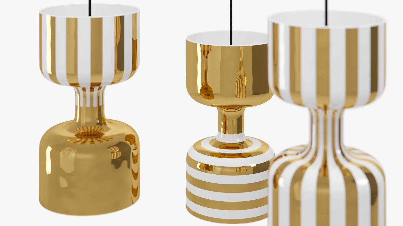 Designer Hanging Lights Made in Italy - Chapiteau by Ekaterina Elizarova