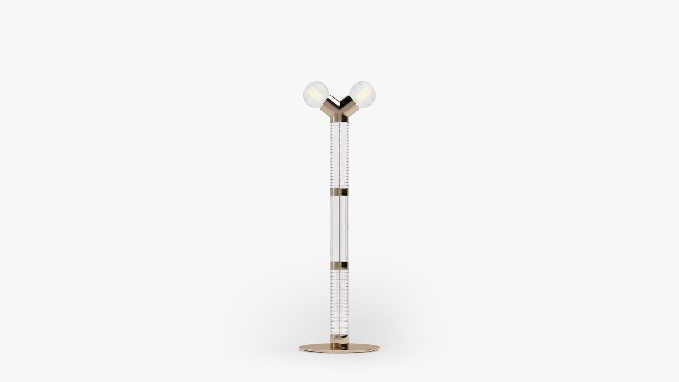 Дизайнерский напольный светильник - Dual Floor Light от Екатерины Елизаровой