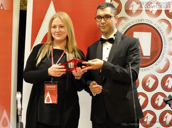 Presentation of the A'Design 2015 Award to Ekaterina Elizarova