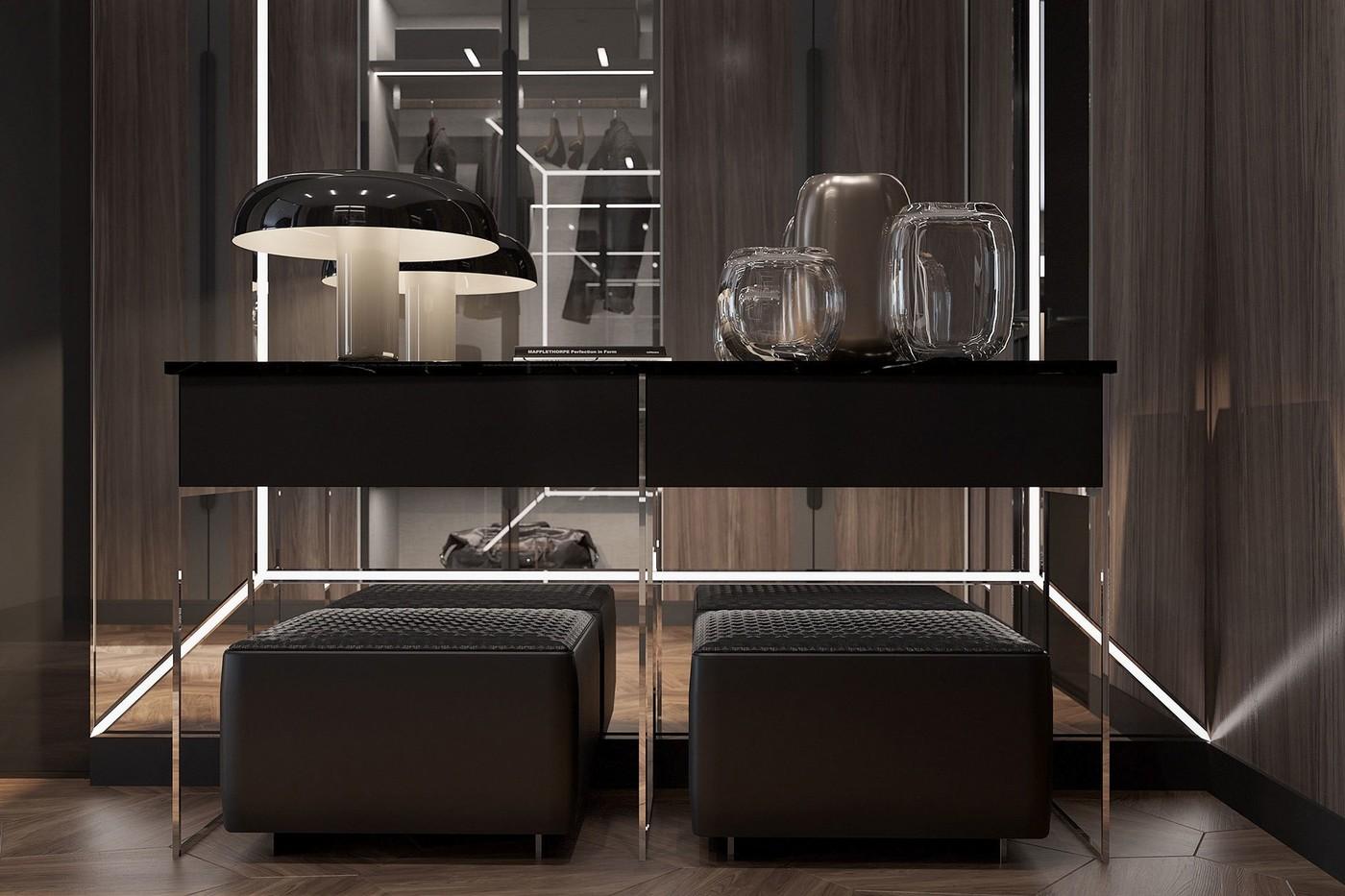 Entrance Hall Table - Elizarova Design Studio