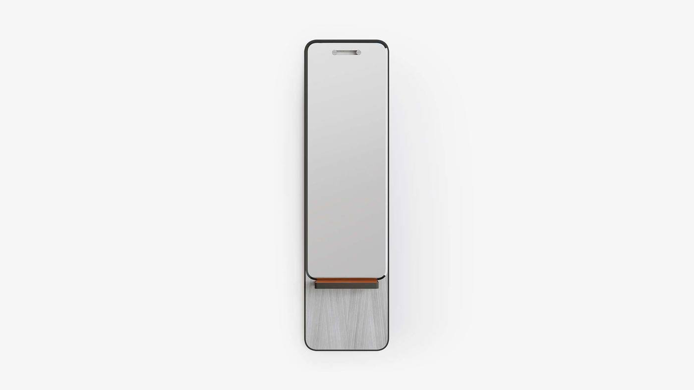 Designer Full-Length Wall Mirror - Manhattan Mirrors by Ekaterina Elizarova