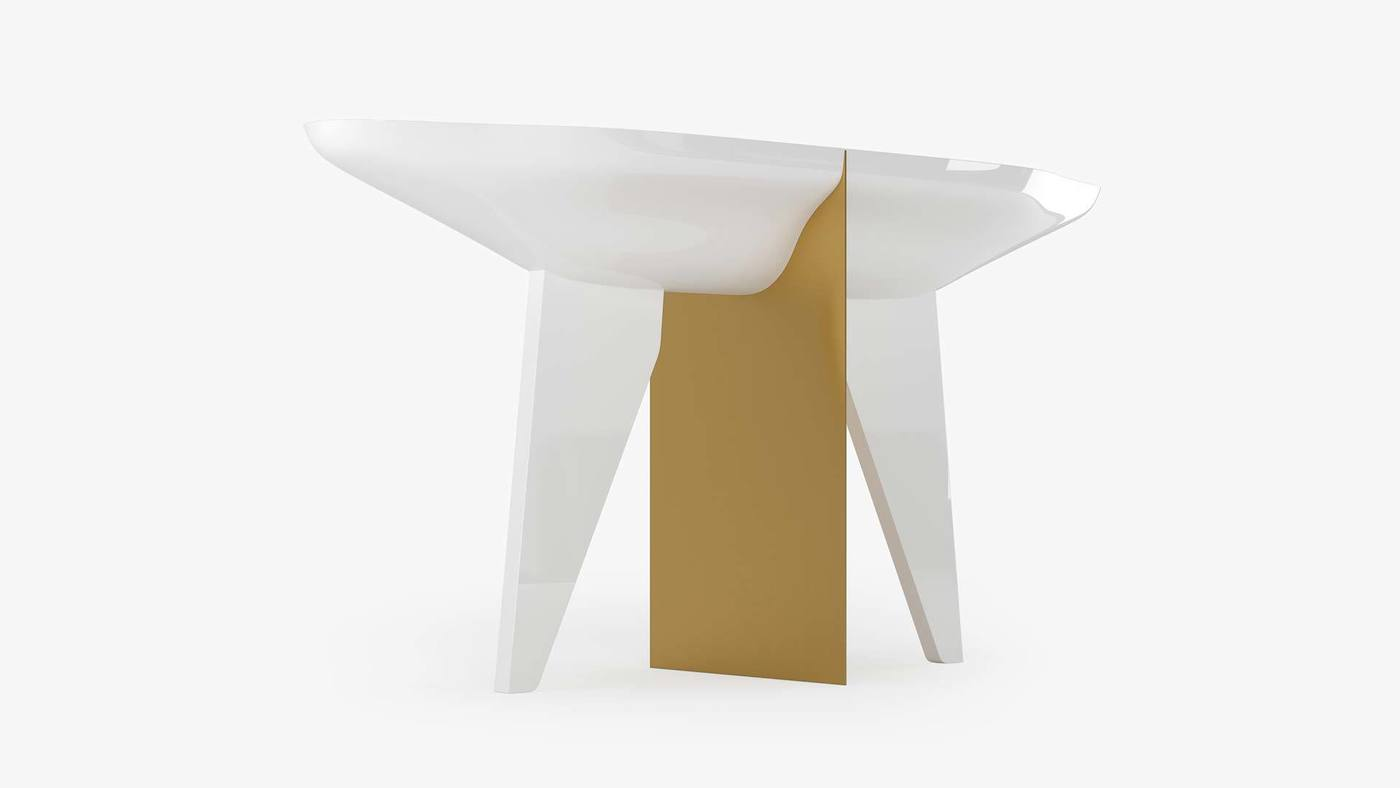 Stylish Modern Living Room Table - Noah by Ekaterina Elizarova