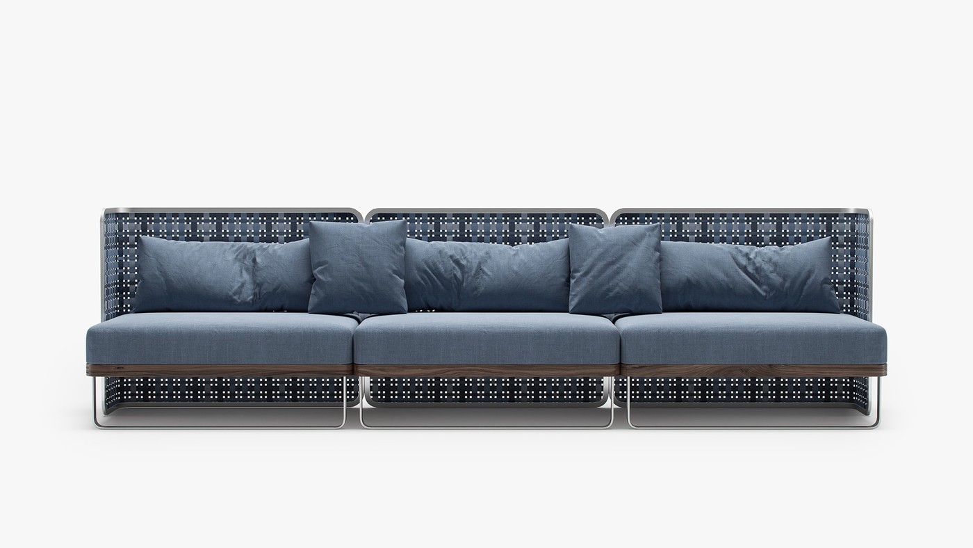 TARTAN - indoor sofa design