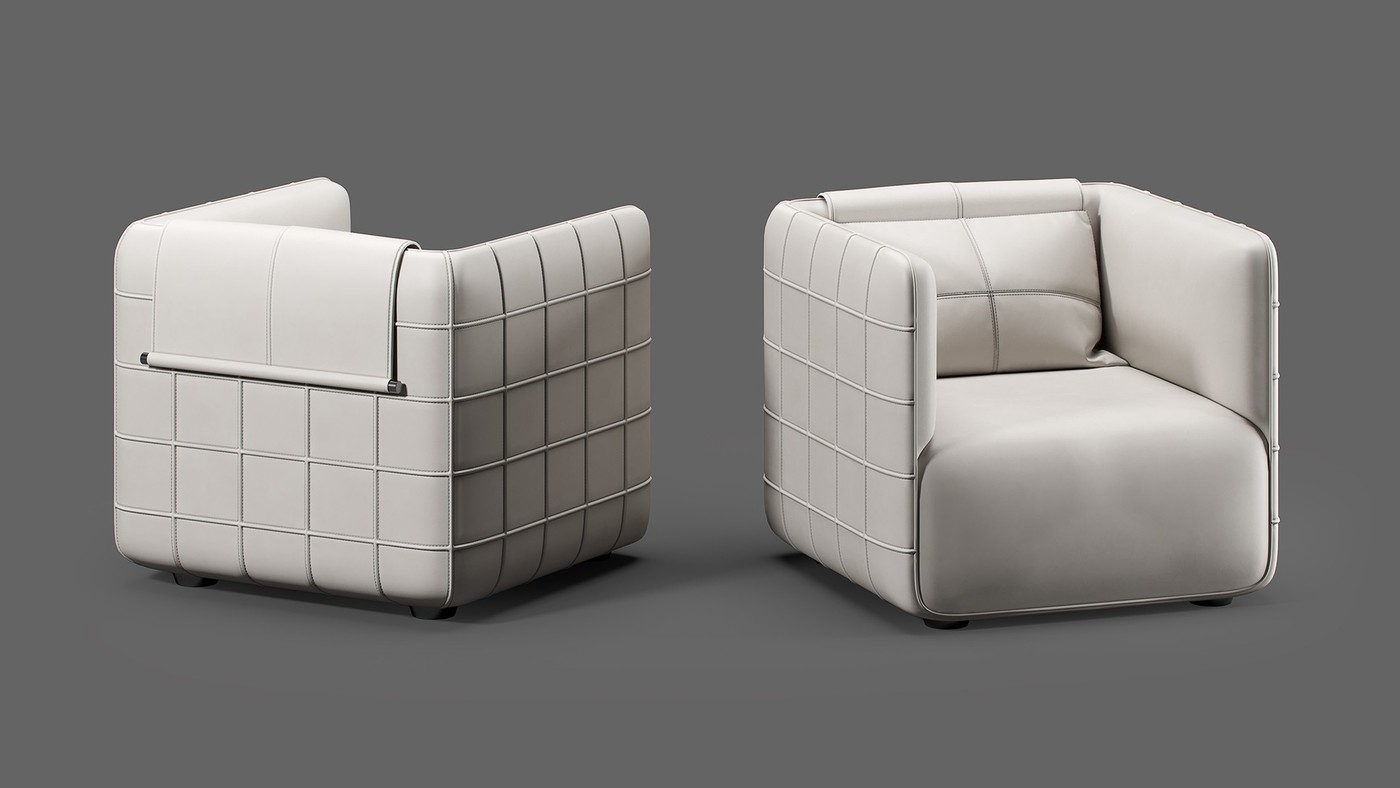 Modern amchair design - TORINO by Elizarova Ekaterina