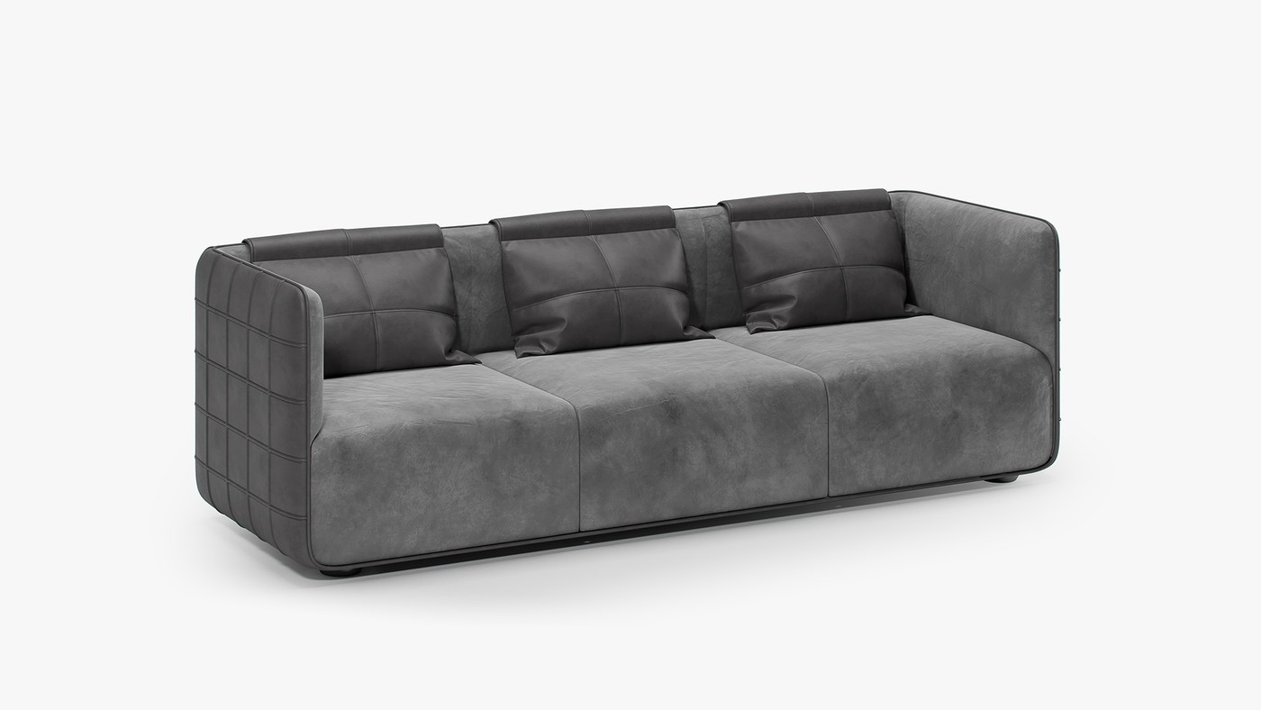 Modern sofa design - TORINO