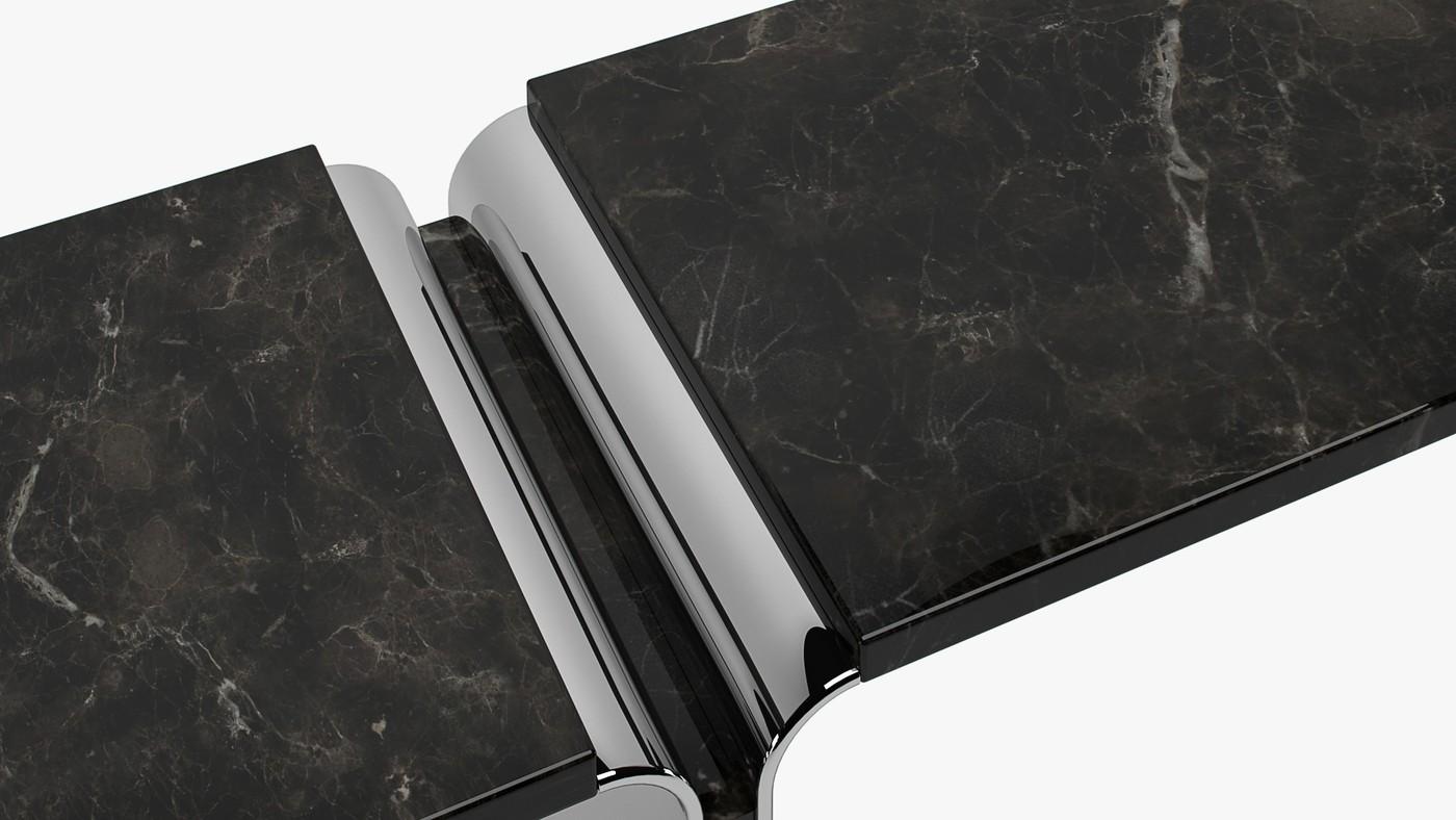 Black Raven - modern console design by Elizarova Ekaterina